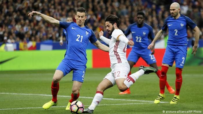 Fußball | Frankreich vs Italien (picture-alliance/AP Photo)