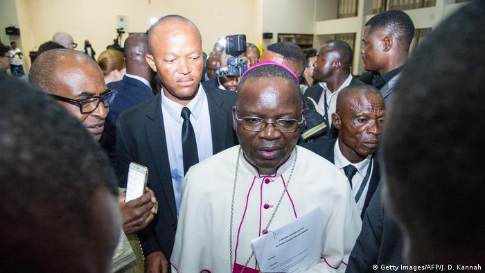 The President of the National Episcopal Conference of Congo, Archbishop Marcel Utembi (Getty Images/AFP/J. D. Kannah)