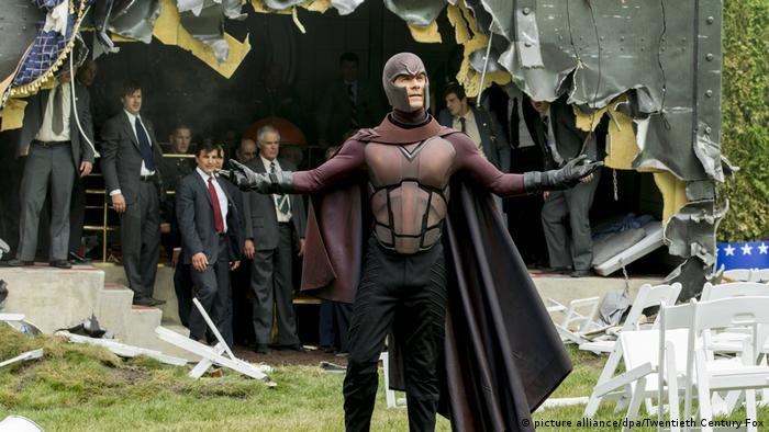 Fillmstill X-Men Zukunft ist Vergangenheit mit Michael Fassbender (picture alliance/dpa/Twentieth Century Fox)
