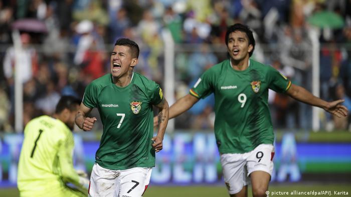 Bolivien Fußball WM Qualifikation Bolivien - Argentinien (picture alliance/dpa/AP/J. Karita)
