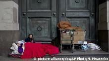 Argentinien Anstieg der Armut