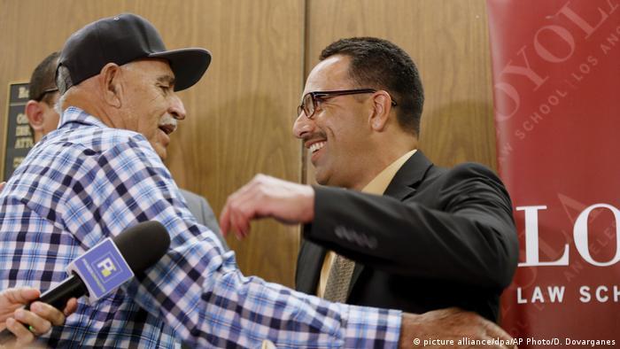 USA Marco Contreras nach 20 Jahre Gefängnis wieder frei (picture alliance/dpa/AP Photo/D. Dovarganes)