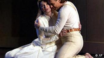 Annick Massis, left, as Ophelia and Jean-Francois Lapointe as Hamlet in a production in the Grand Theatre de Geneve