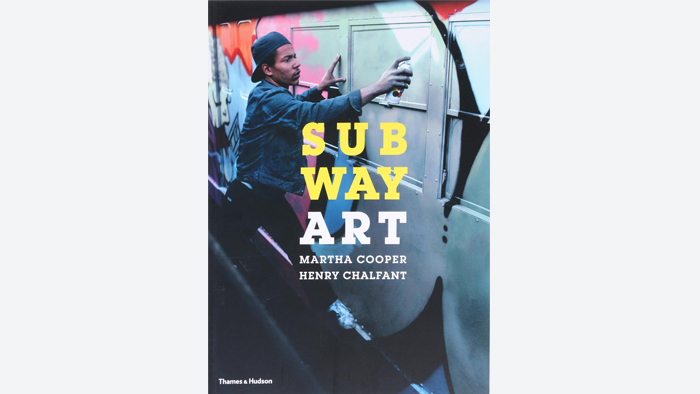 Book cover, Subway Art
