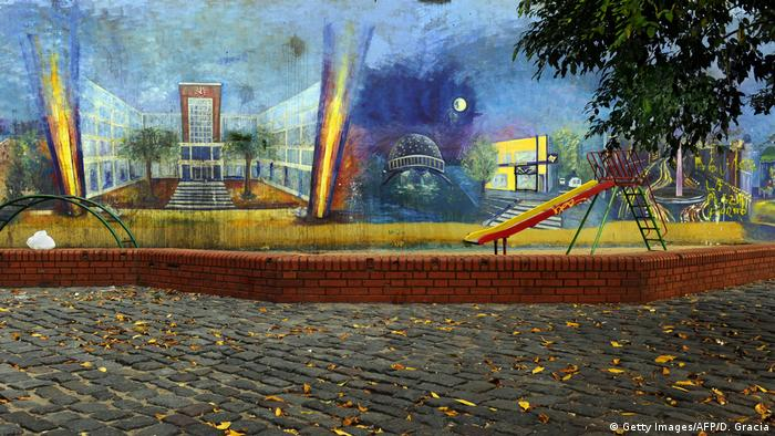 Argentinien Graffiti in Buenos Aires (Getty Images/AFP/D. Gracia)