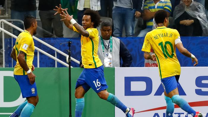 WM 2018 Qualifikationsspiel- Brazil v Paraguay (Getty Images/B. Mendes)