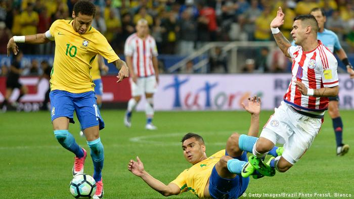 WM 2018 Qualifikationsspiel- Brazil v Paraguay (Getty Images/Brazil Photo Press/L. Bianco)