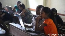 Indien Coding class, Dharavi Diary Center, Mumbai