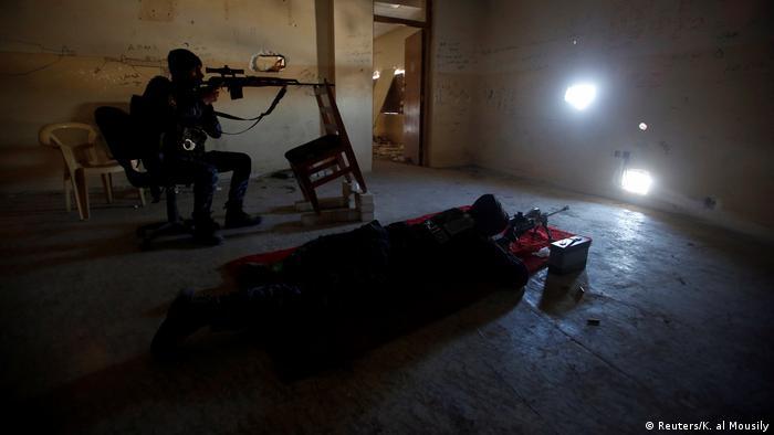 Irak Scharfschütze in Mosul (Reuters/K. al Mousily)