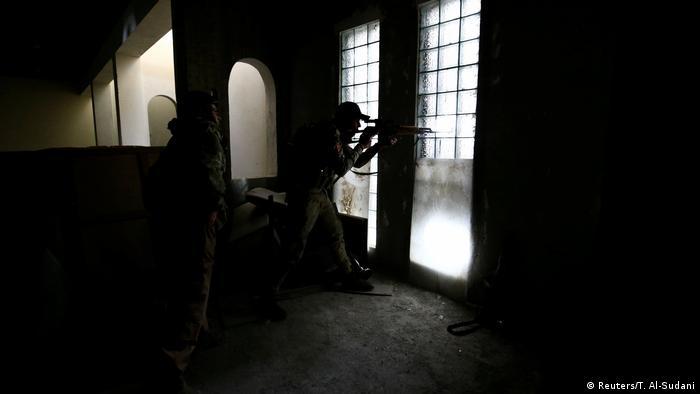 Irak Scharfschütze in Mosul (Reuters/T. Al-Sudani)
