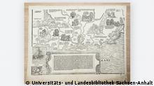 Deutschland Karte aus dem 16. Jahrhundert Universitäts- und Landesbibliothek Sachsen-Anhalt