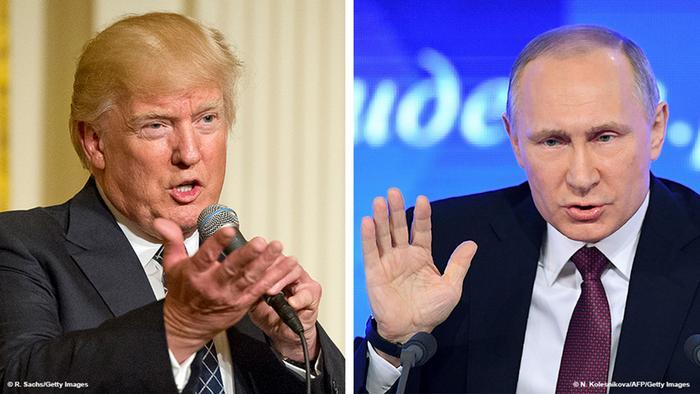 Kombobild Trump Putin