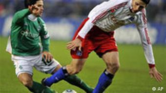 Diego u dvoboju s jednim igračem HSV-a
