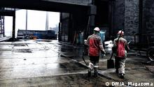 Ukraine Chemieindustrie in Awdeewka im Donbass