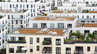 Новые жилые дома в Мюнхене
