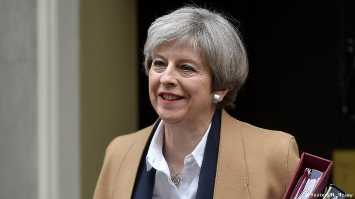 Großbritannien Brexit Theresa May Downing Street