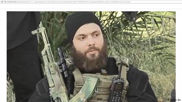 Screenshot Stern- Abu Umar al-Almani