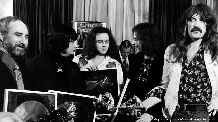 Deep Purple 1974 (picture-alliance/dpa/Martin Athenstädt)