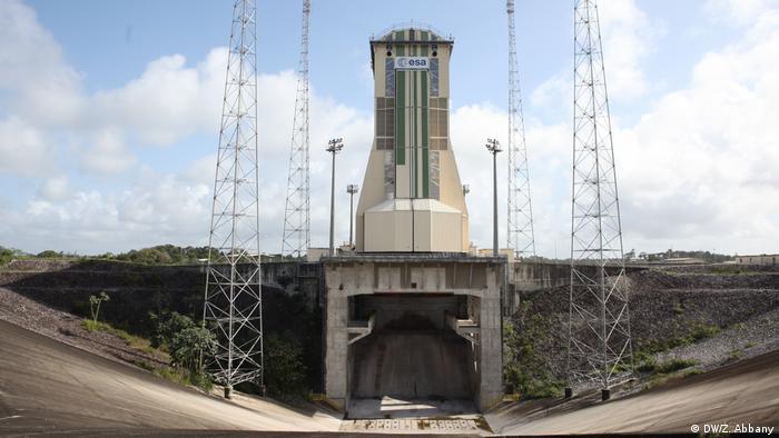 Französisch-Guayana Weltraum-Bahnhof in Kourou