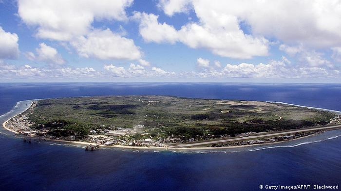 Die Republik Nauru (Getty Images/AFP/T. Blackwood)
