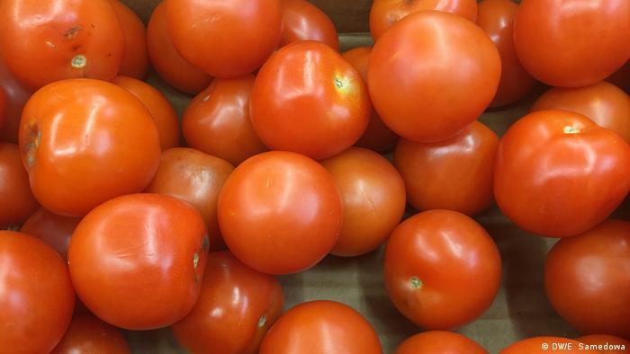 Russland, Verkauf von Tomaten aus der Türkei