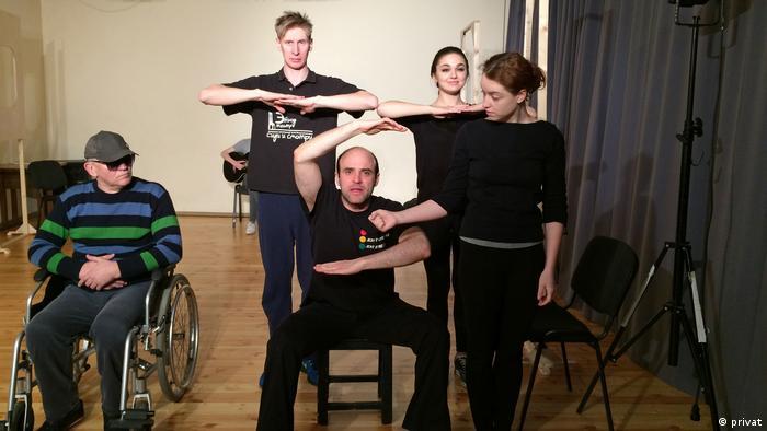 Голокост кабаре - репетиція театру Мізантроп