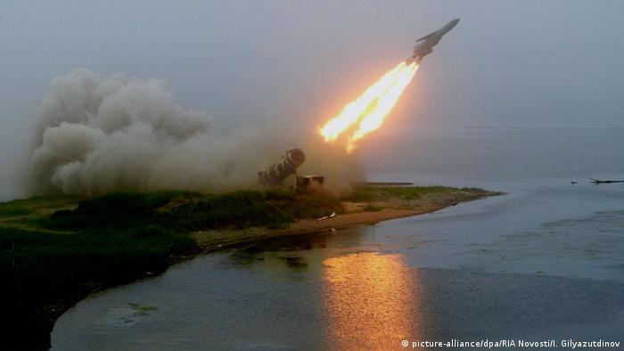 Russland Küstenverteidungssystem Redoubt