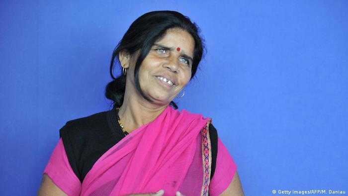 Indien Pink Gang   Sampat Pal (Getty Images/AFP/M. Daniau)