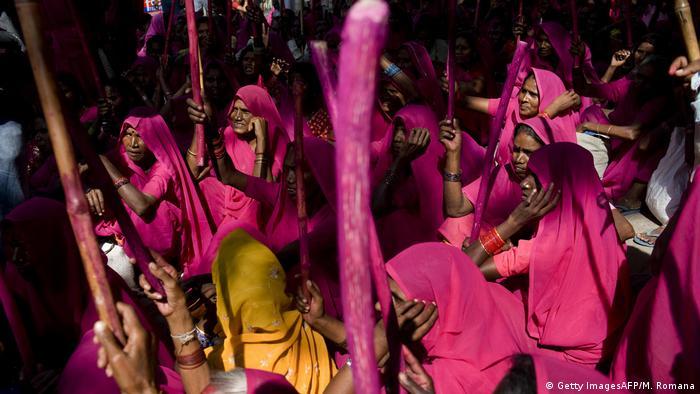 Indien Pink gang   (Getty ImagesAFP/M. Romana)