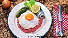Essen in Deutschland Labskaus Seemannslabskaus Norddeutschland