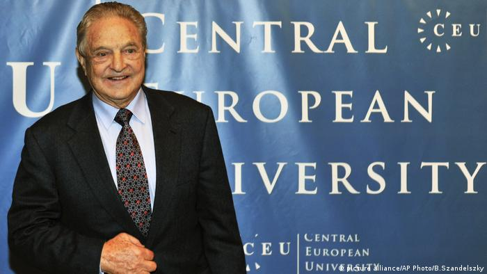 Джордж Сорос в Будапеща през 2009 година
