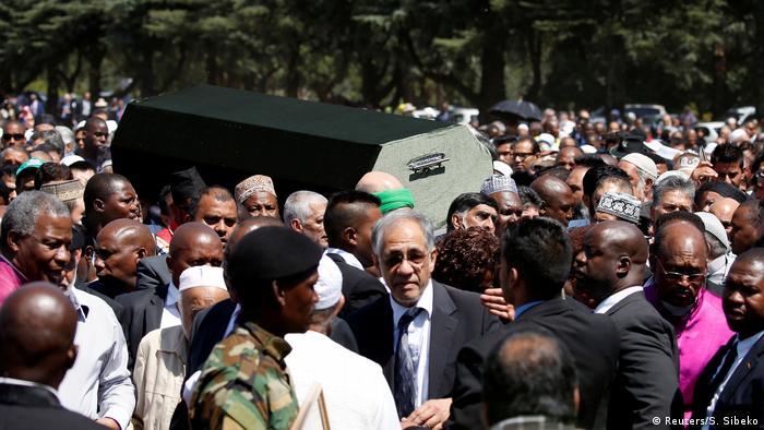 Südafrika Beerdigung von Ahmed Kathrada