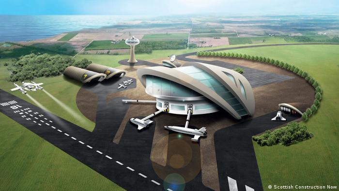 Entwurf Spaceport