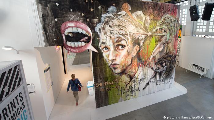 Ausstellung Street Art (picture-alliance/dpa/S.Kahnert)
