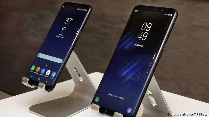 Samsung S8, Samsung S8 Plus (picture alliance/AP Photo)