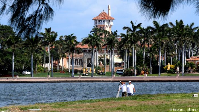 USA Mar-a-Lago, Luxusdomizil von Donald Trump (Reuters/J. Skipper)