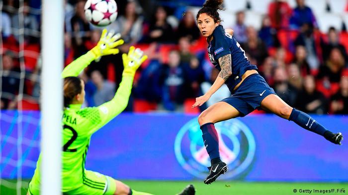 Champions League Frauen Bayern München gegen Paris Saint Germain
