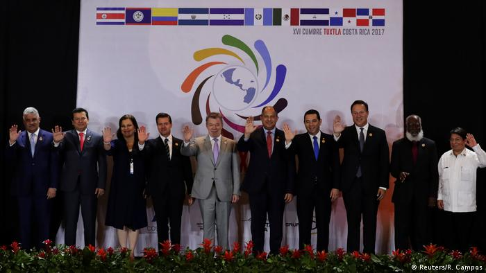 Costa Rica Mittelamerika-Treffen in San José (Reuters/R. Campos)