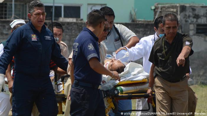 Mexiko Angriff auf Armando Arrieta Granados (picture-alliance/ZUMAPRESS.com/El Universal/P. Morales)