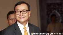Sam Rainsy (picture-alliance/dpa/M. Remissa)