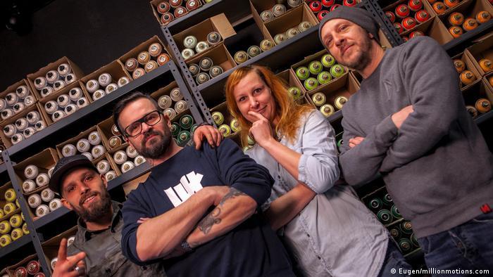 Art group Die Dixons (Eugen/millionmotions.com)