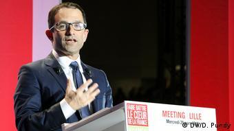 Frankreich Die Linke vor der Wahl   Hamon