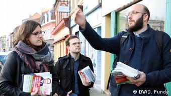 Oι εθελοντές του Σοσιαλιστικού Κόμματος δεν σταματούν των αγώνα παρά τους χαμηλά ποσοστά στις δημοσκοπήσεις