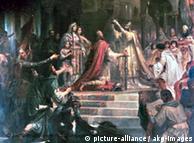 Coroação de Carlos Magno (pintura de Friedrich Kaulbach, em 1861)