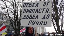 Weißrussland Proteste in Minsk