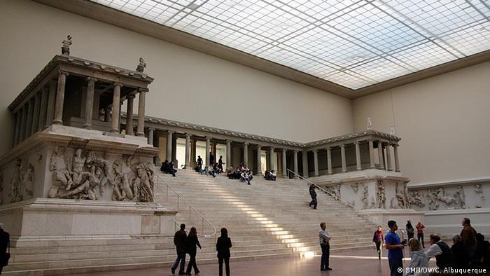 Altar de Pérgamo no Pergamonmuseum, Berlim