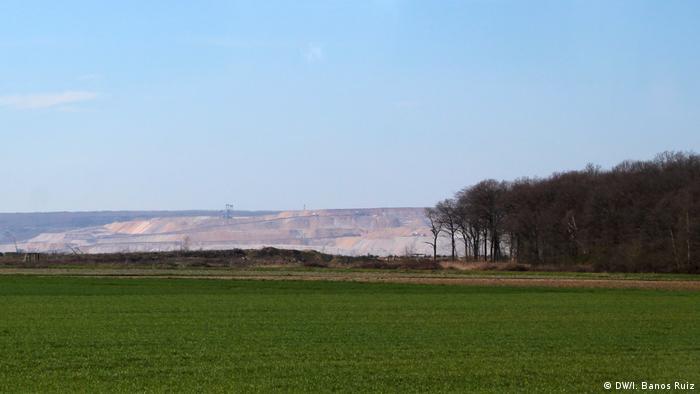 Farmland, forest and the Garzweiler mine