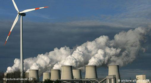 Rising greenhouse gases in Germany (picture-alliance/ ZB)