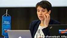 Frauke Petry, Parteitag der Sachsen-AfD in Weinböhla