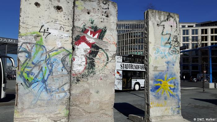 Slabs of the Berlin Wall